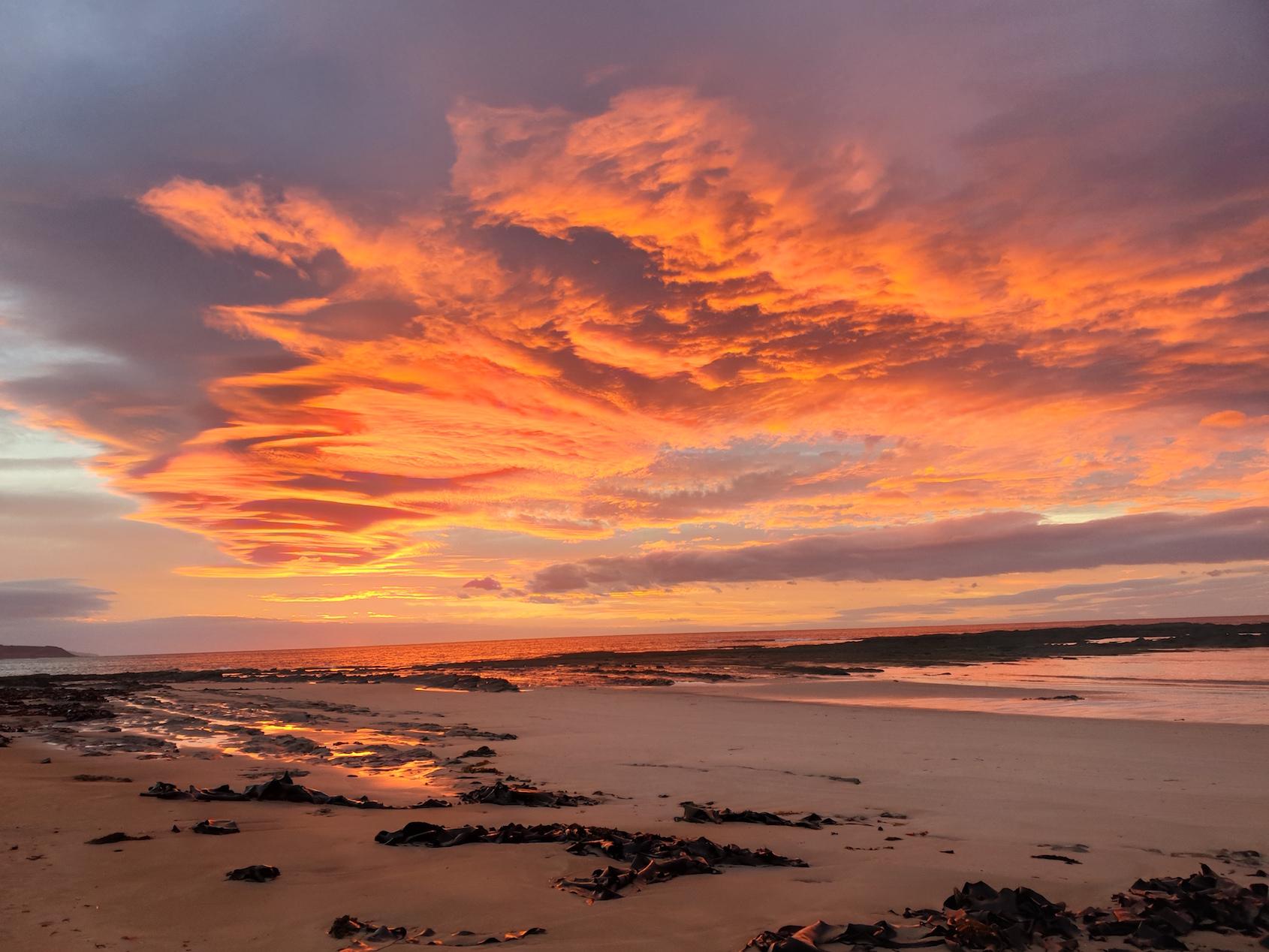 Sunrise at Blanket Bay