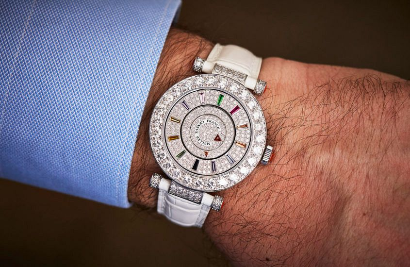 Franck Muller Double Mystery wrist