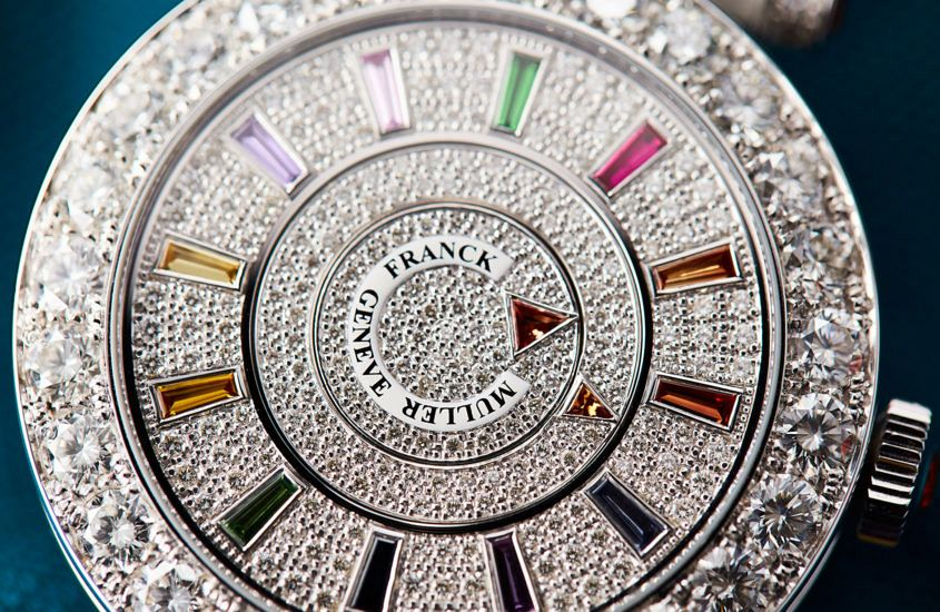 Franck Muller Double Mystery dial