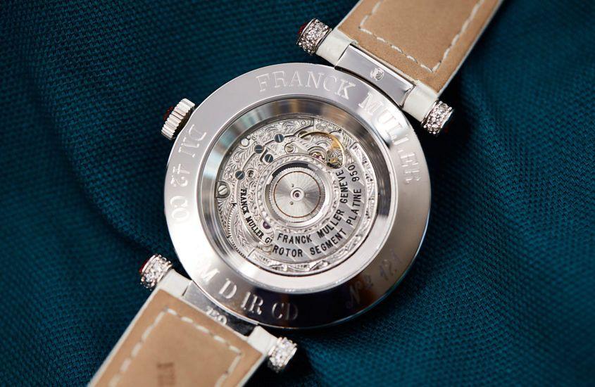 Franck Muller Double Mystery caseback