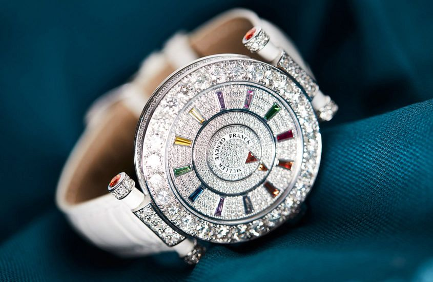 Franck Muller Double Mystery diamond