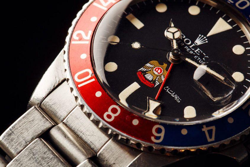 Rolex GMT-Master patina