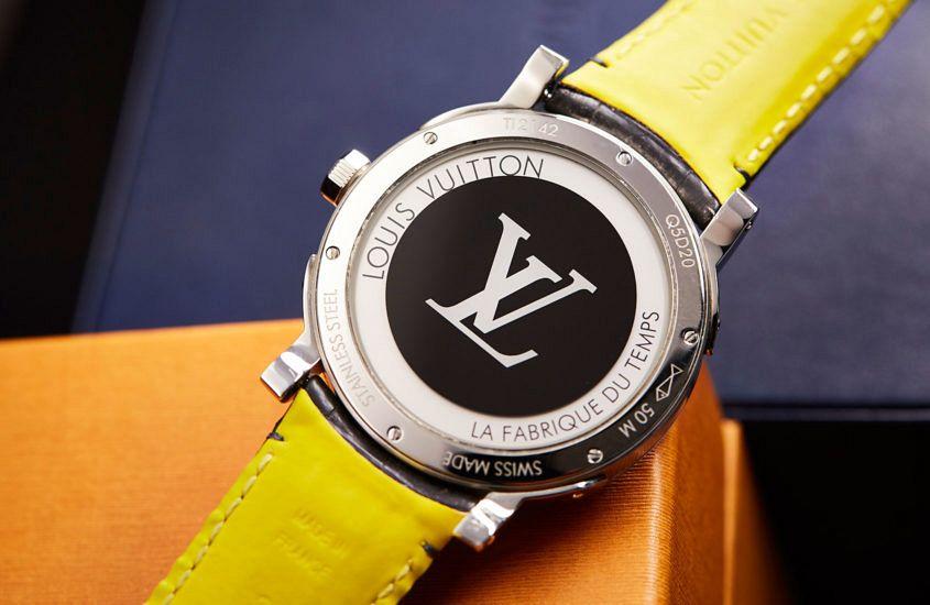 Louis Vuitton Escale Time Zone case back