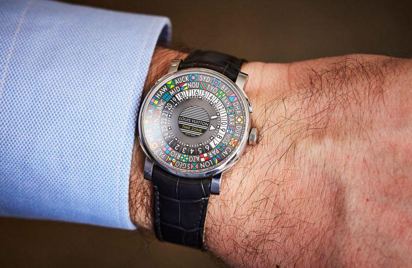 Louis Vuitton Escale Time Zone wrist