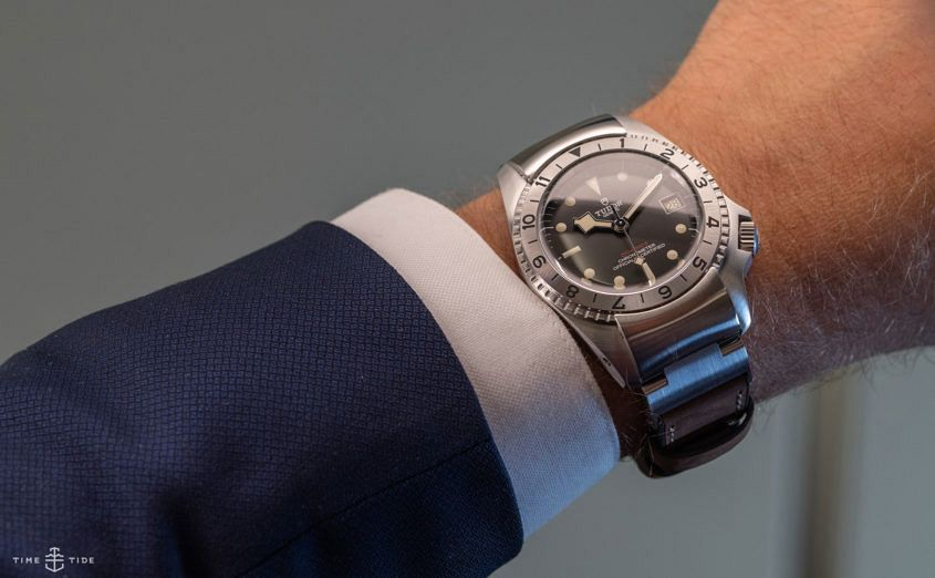 tudor P01 on the wrist