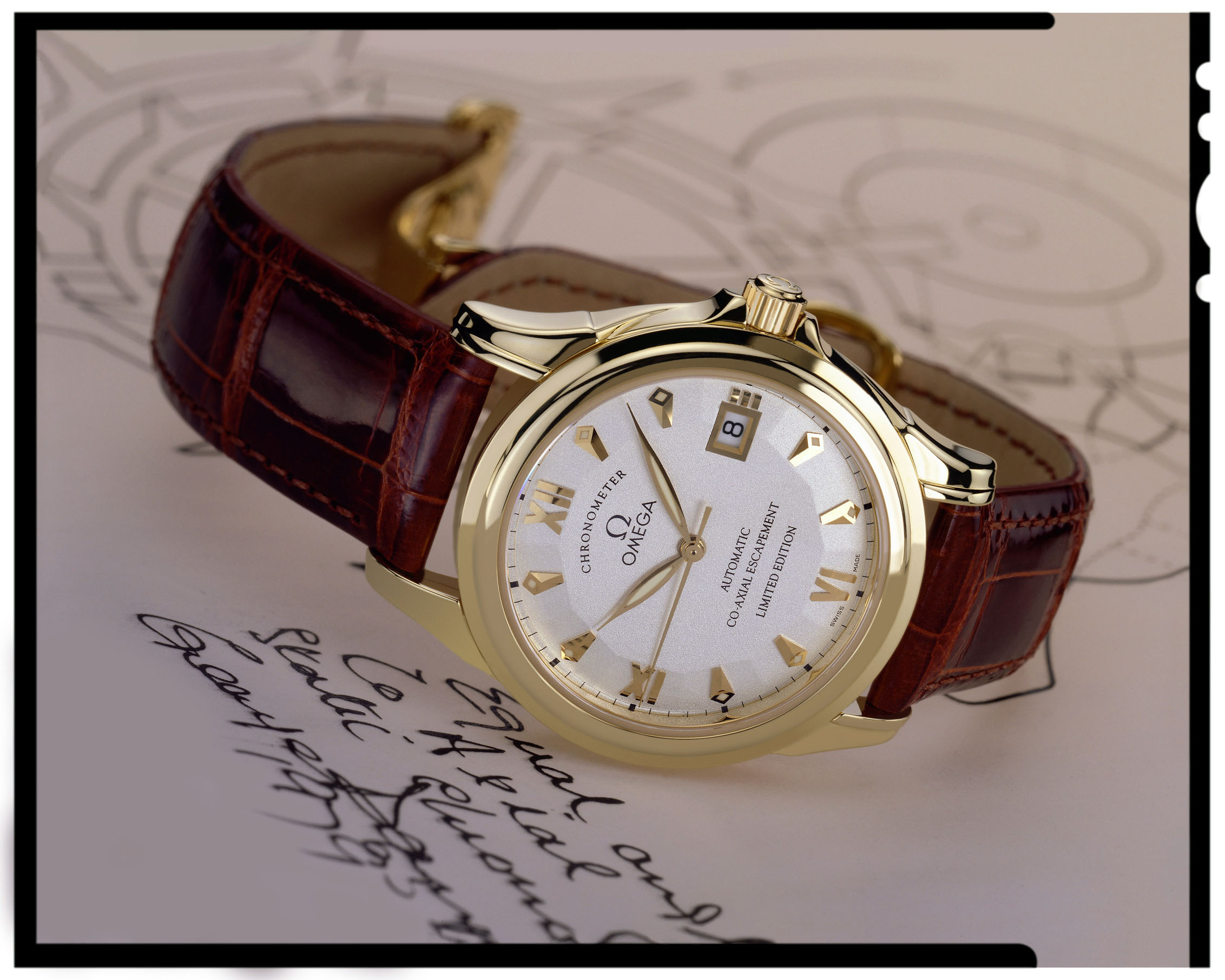 Omega - De Ville Co- Axial Limited 18K Yellow Gold