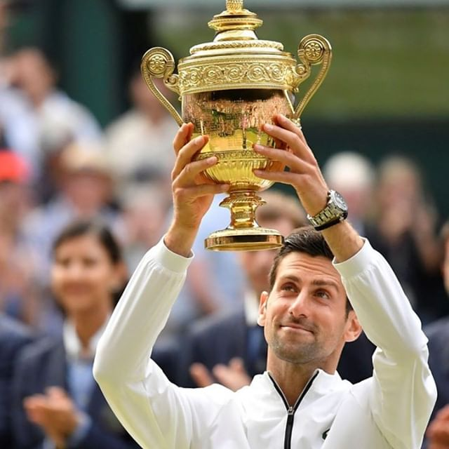 A Wimbledon win for Seiko and Novak. Hit the link in profile for our review of the Astron he's wearing.