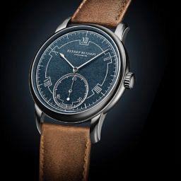 Akrivia Chronometre Contemporain Rexhep Rexhepi Blue Dial