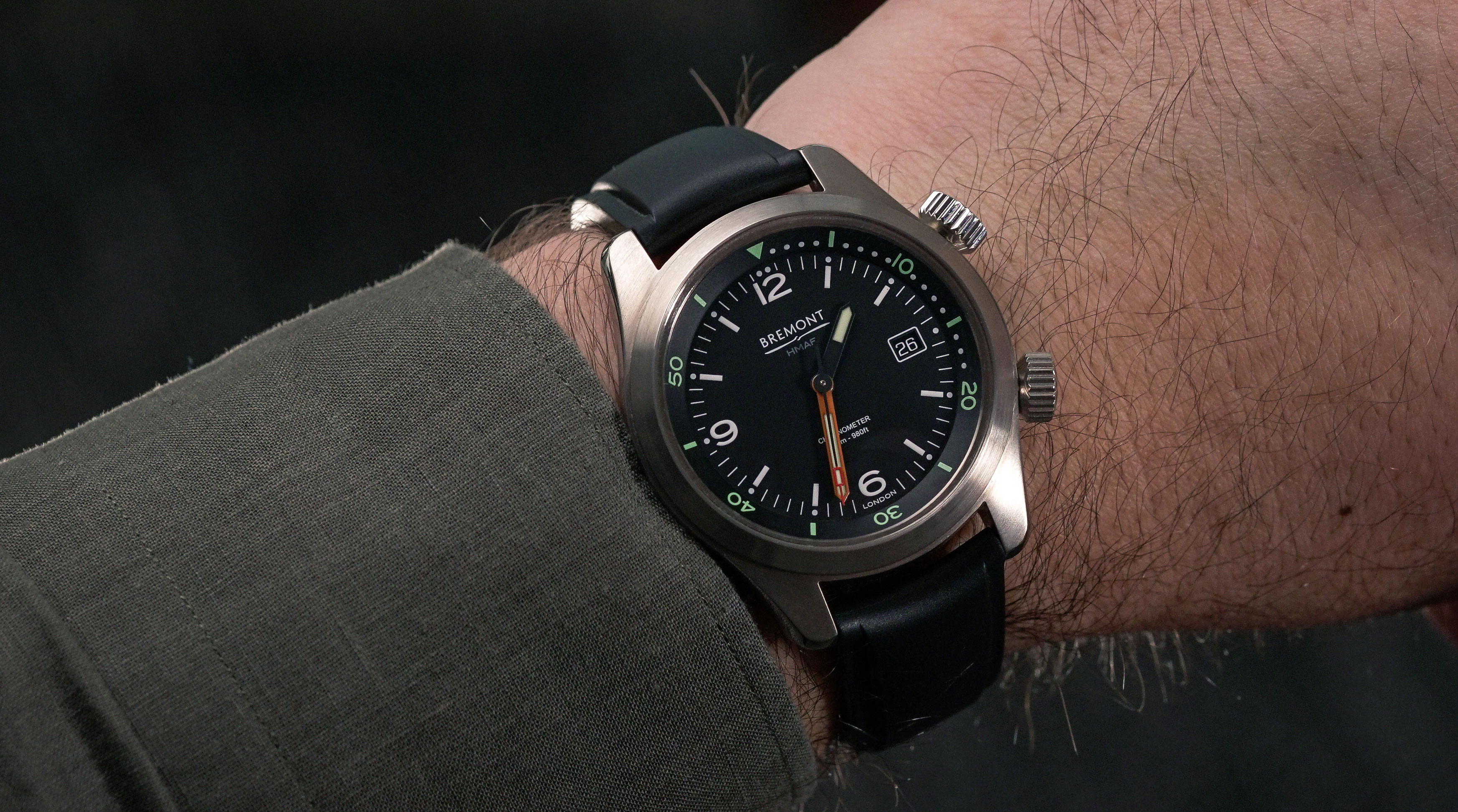 five bremont watches