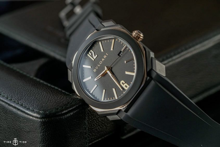 Bulgari Octo L'Originale in black and gold