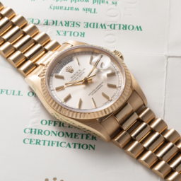 yellow gold Rolex Day-Date