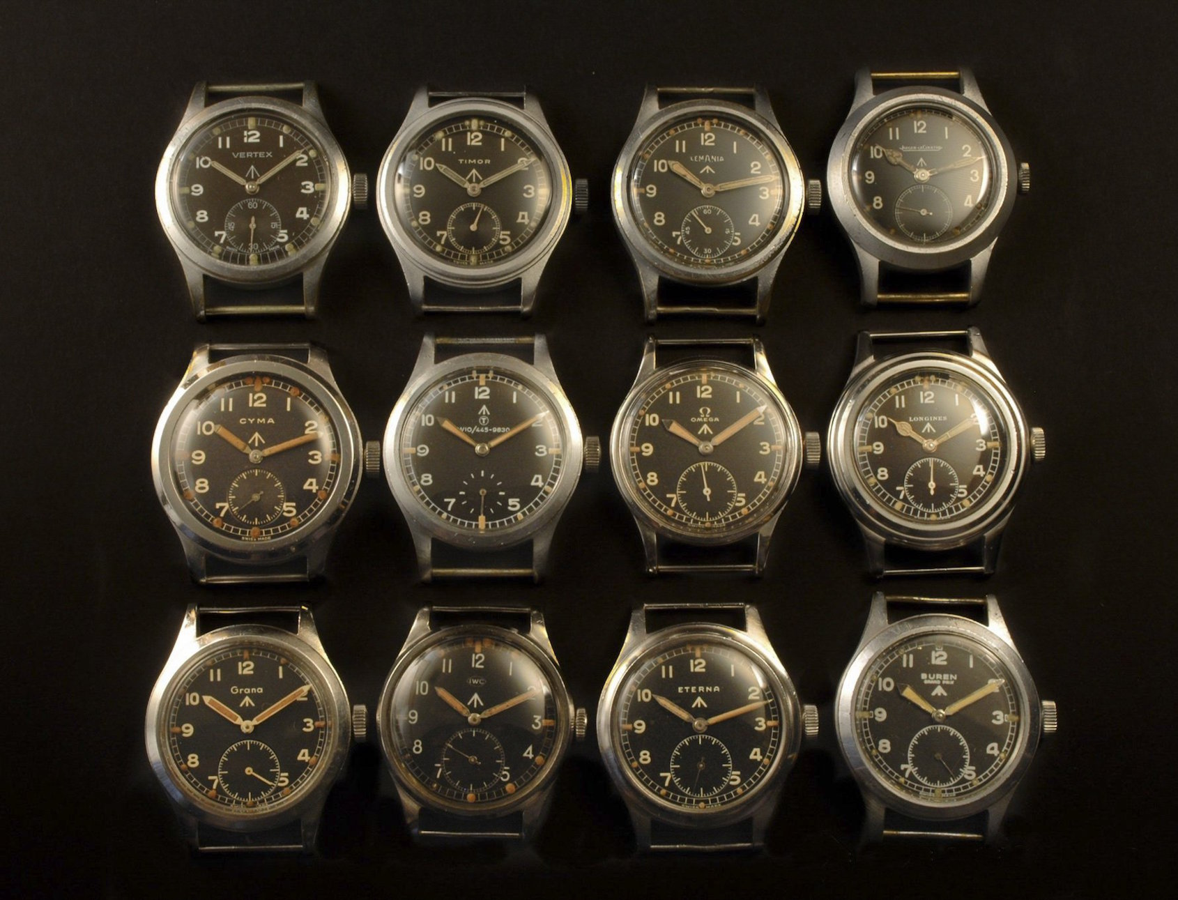Dirty Dozen British World War 2 Military Watches - Which of the dirty dozen survive today?