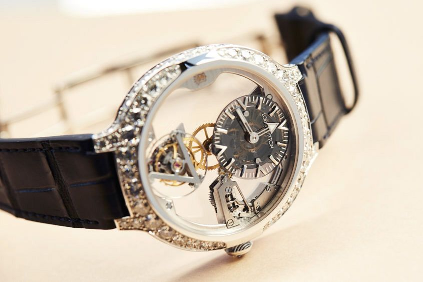 Louis Vuitton tourbillon