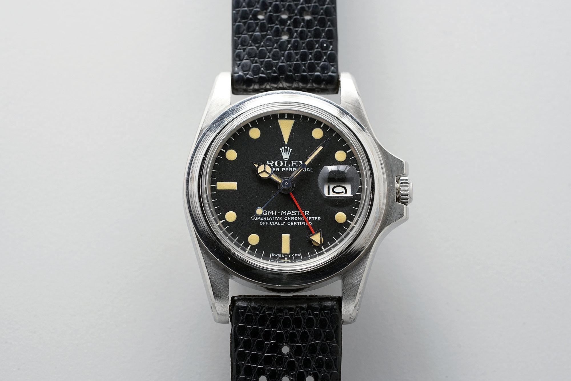 Marlon Brando Rolex GMT front