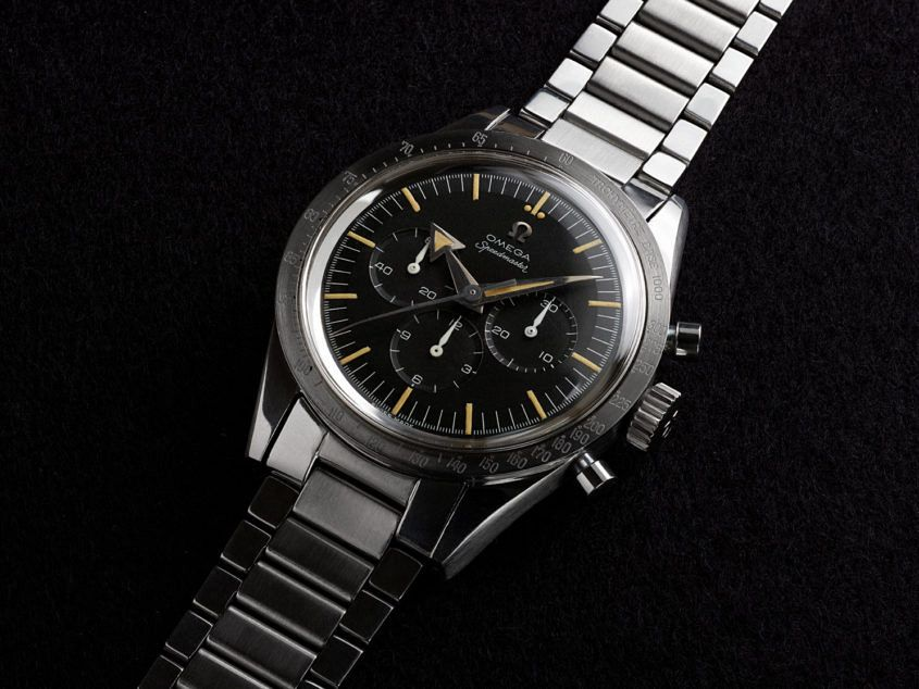 1957 – Omega Speedmaster — ref. 2915 — the Broad Arrow