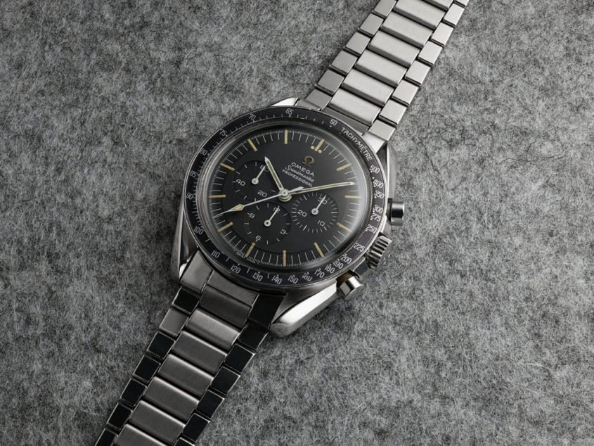 1965 – Omega Speedmaster — ref. 105.012 — the Moonwatch
