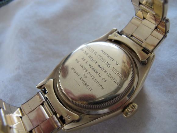 Tenzing Norgay Rolex Datejust