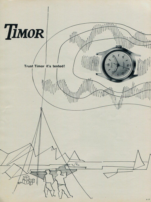 Timor Watch Company Dirty Dozen