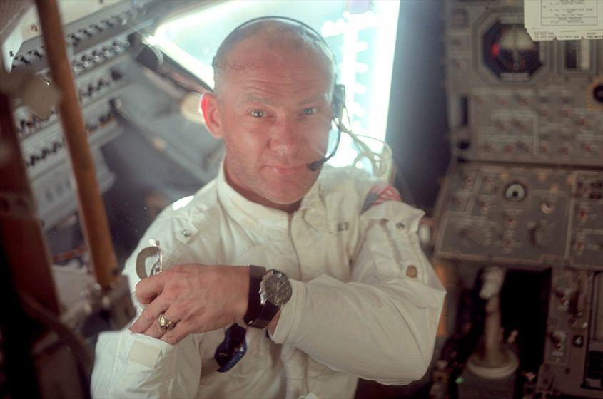 Buzz Aldrin Omega