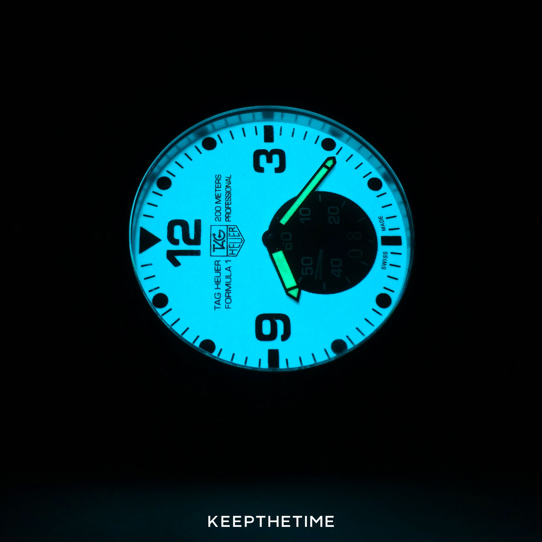 TAG Heuer F1 Grande Date Lume Dial