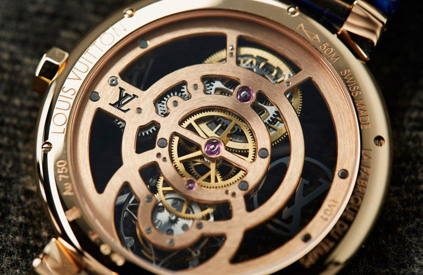the incredible Louis Vuitton Tambour Moon Flying Tourbillon 'Poinçon De Genève'