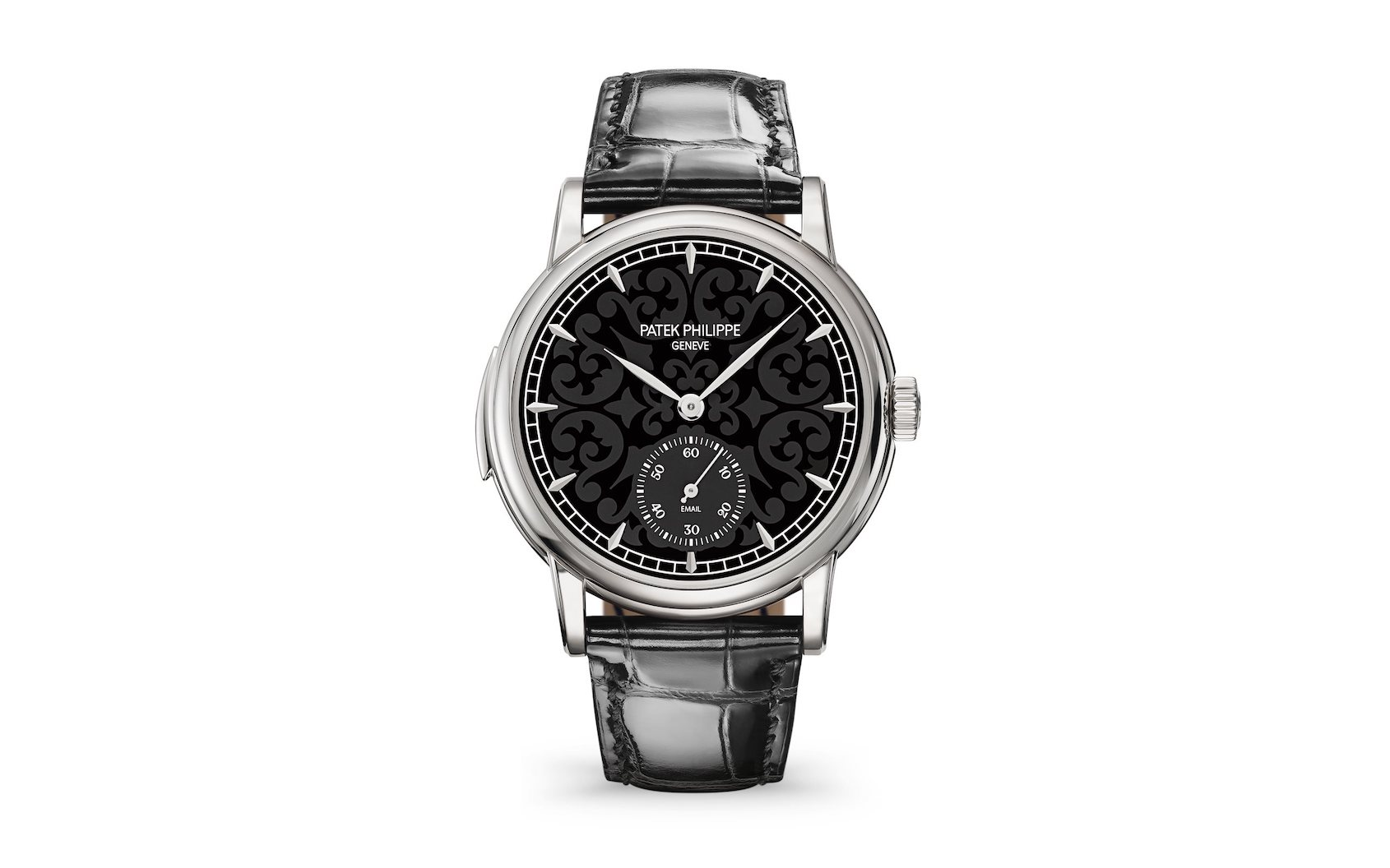 "Patek Philippe Ref. 5078G Minute Repeater ""Arabesque"" Enamel"