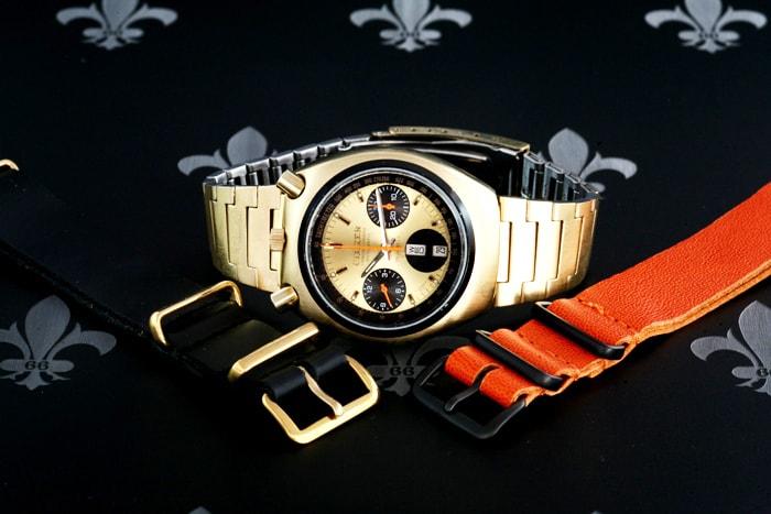 Brad Pitt's watch