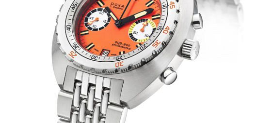 Doxa Sub 200 T.GRAPH Stainless Steel Limited Edition