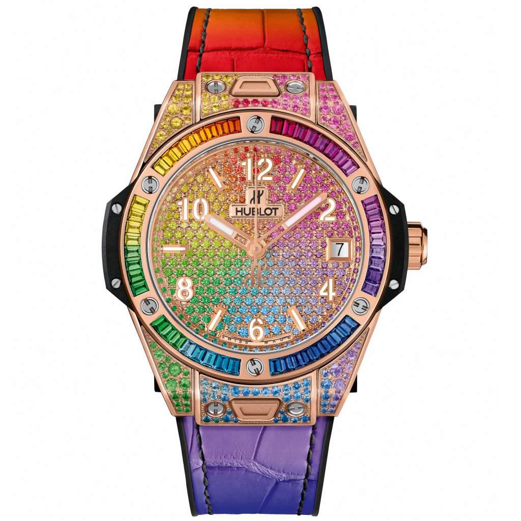 Jewellery – Hublot Big Bang One Click Rainbow