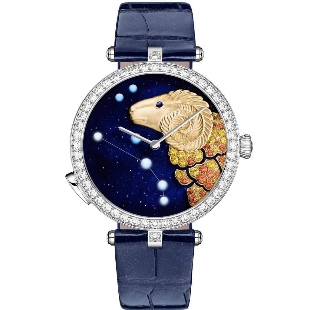 Ladies' Complication – Van Cleef & Arpels Lady Arpels Zodiac Lumineux Aries watch