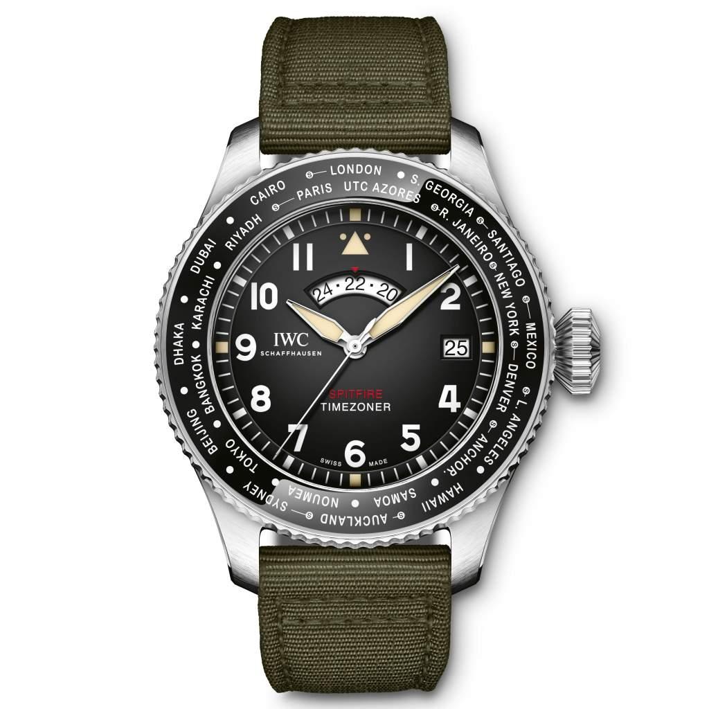 "Men's Complication – IWC Schaffhausen Pilot's Watch Timezoner Spitfire Edition ""The Longest Flight"""