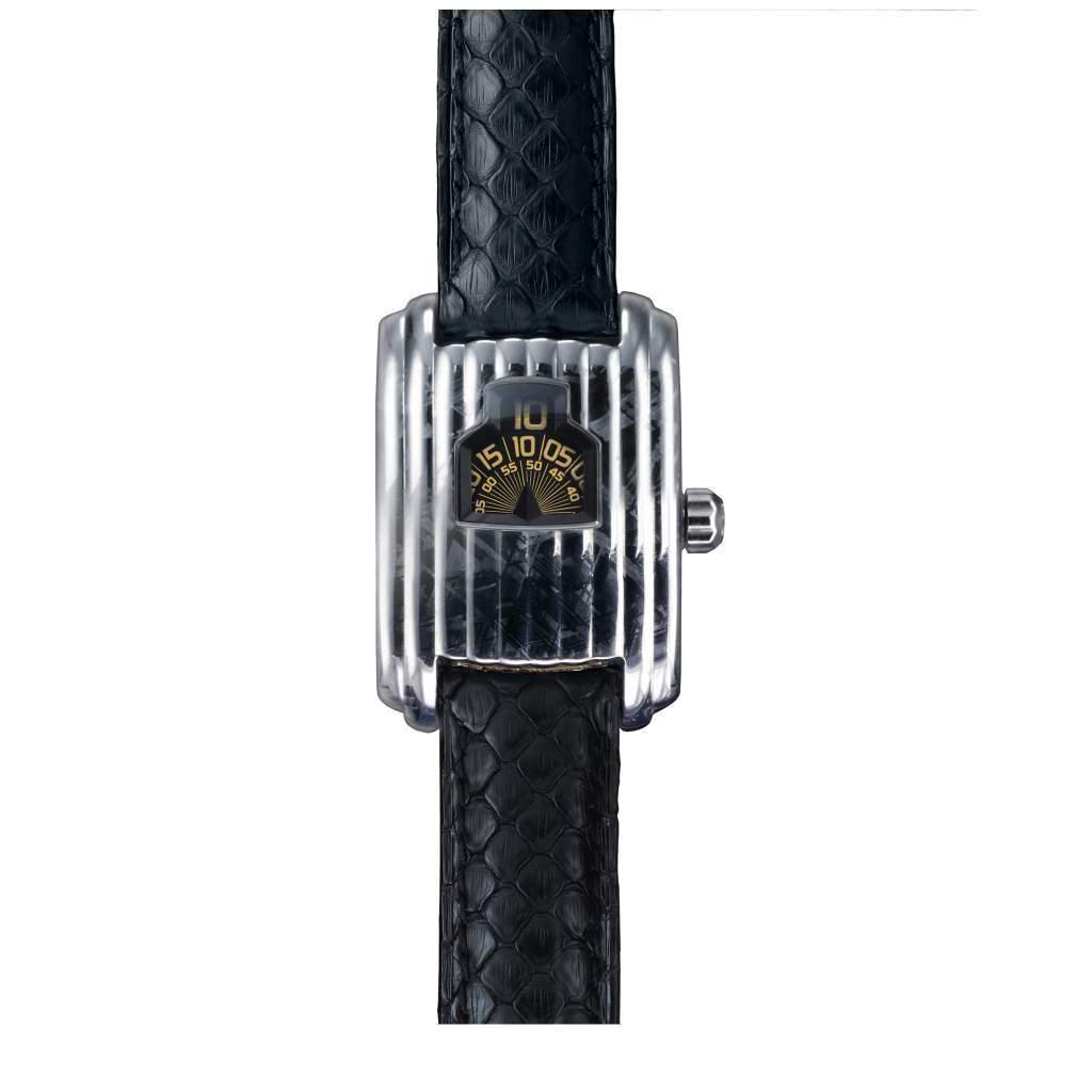 """Petite Aiguille"" – David Rutten Meteorite Watches Streamline"