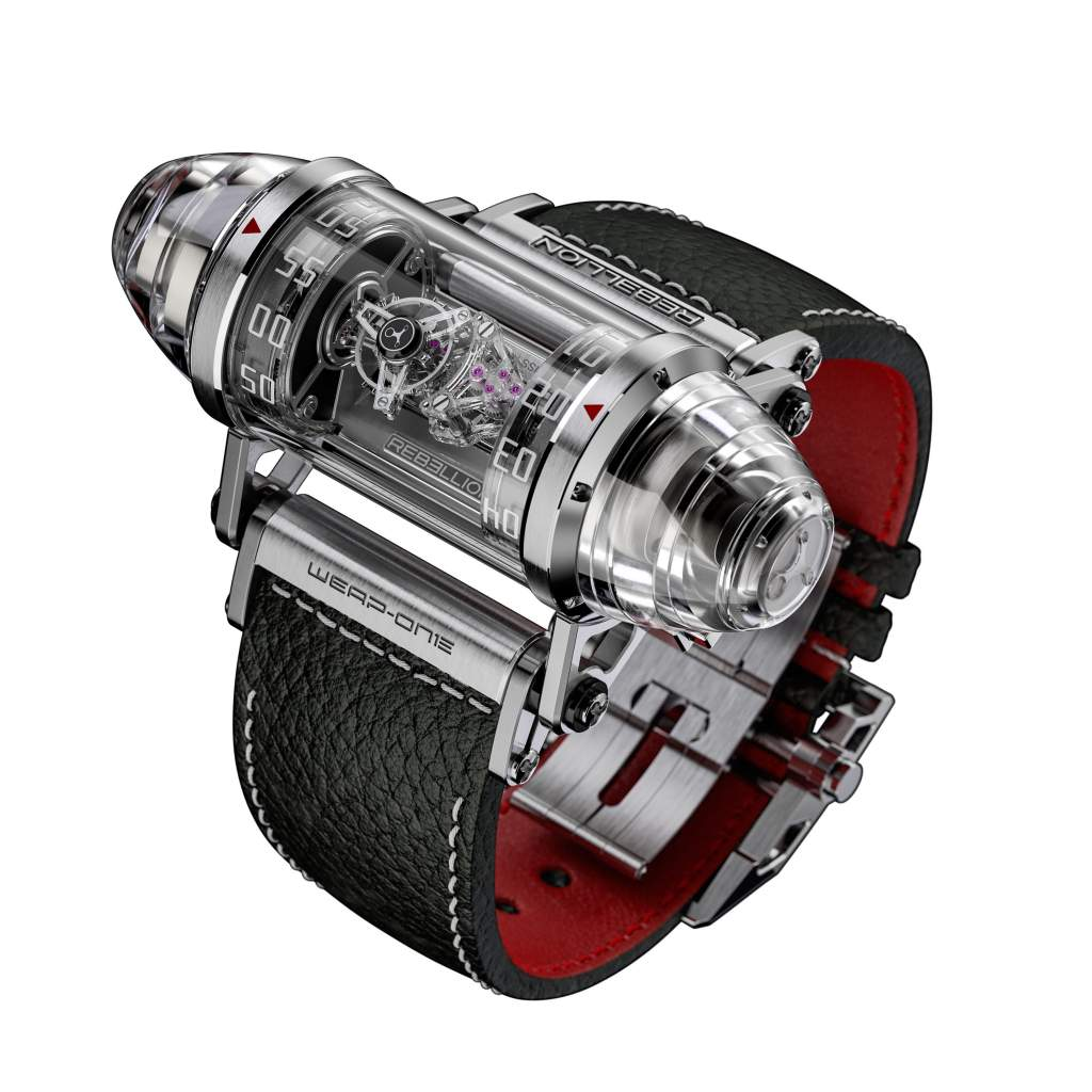 Mechanical Exception – Rebellion Timepieces Weap-One Diamonds