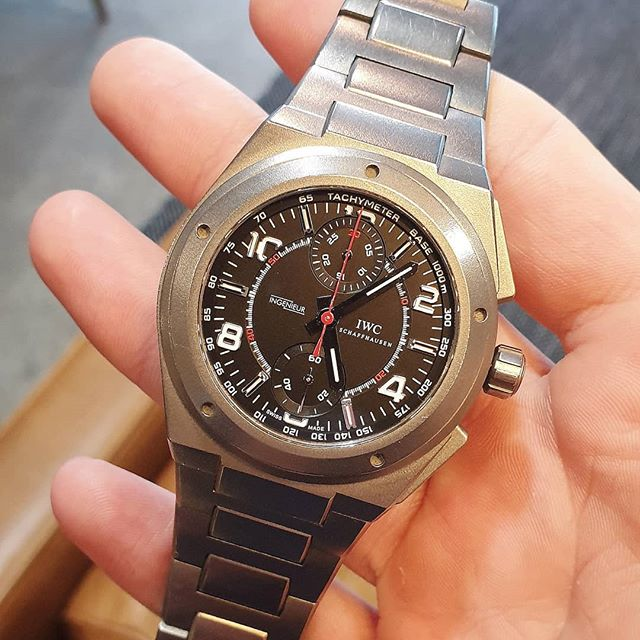 Zak tells us about his excellent @iwcwatches_aus_nz AMG Ingenieur - link in bio.