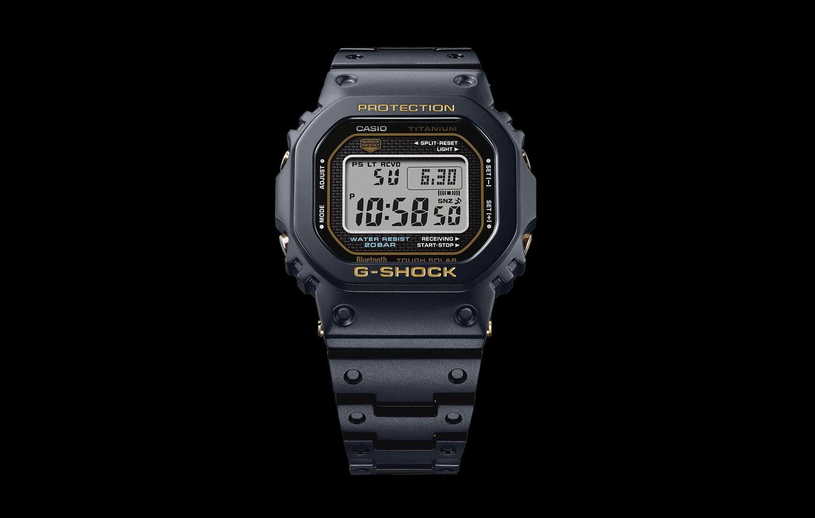 Casio G-Shock GMW-B5000TB Titanium