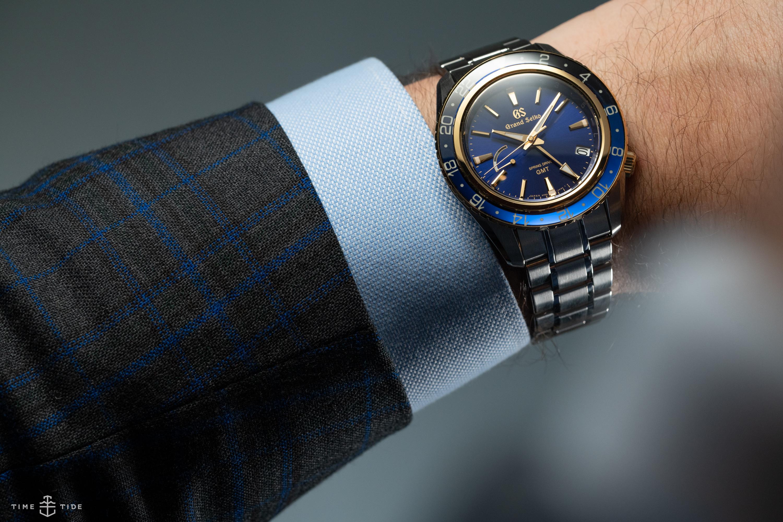 Grand Seiko blue dial