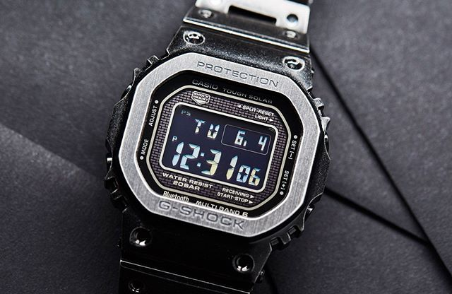 Andrew waxes lyrical about the worn, but not weary, @gshockoz GMW-B5000V. Link in bio.