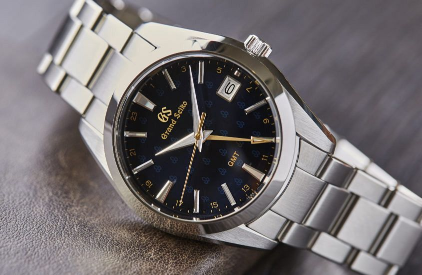 Grand Seiko blue GMT 07 845x550 - Fully charged: 4 of the best quartz watches of 2019