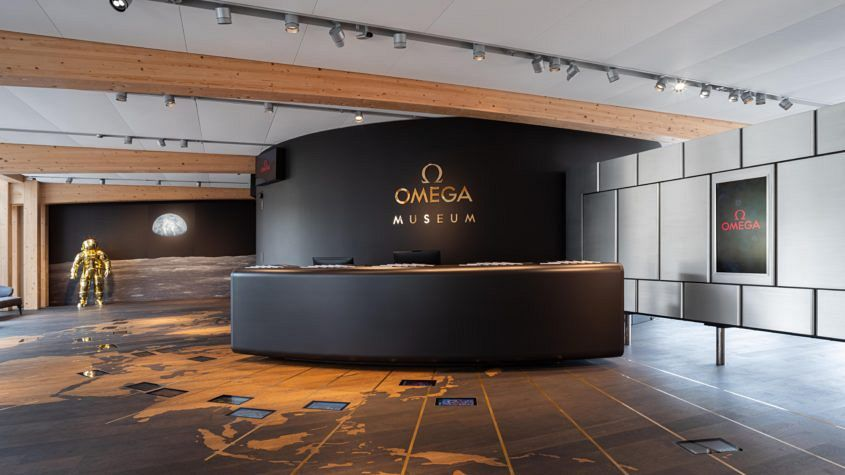 Omega's new museum