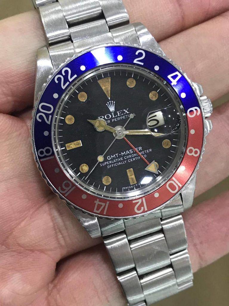"""Rolex GMT-Master Ref.1675 """"Pepsi"""""""