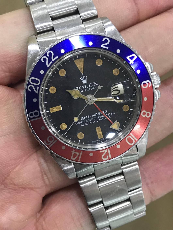 What Sealed The Deal \u2013 Darren\u0027s Rolex GMT,Master Ref.1675