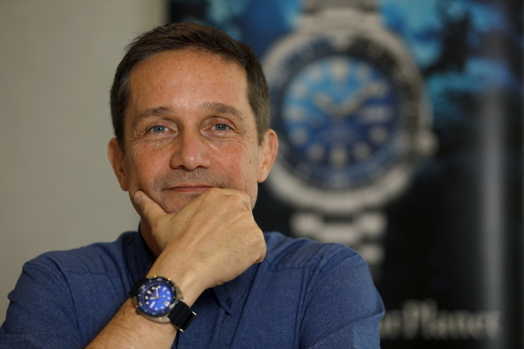 Seiko Save the Ocean Fabien Cousteau
