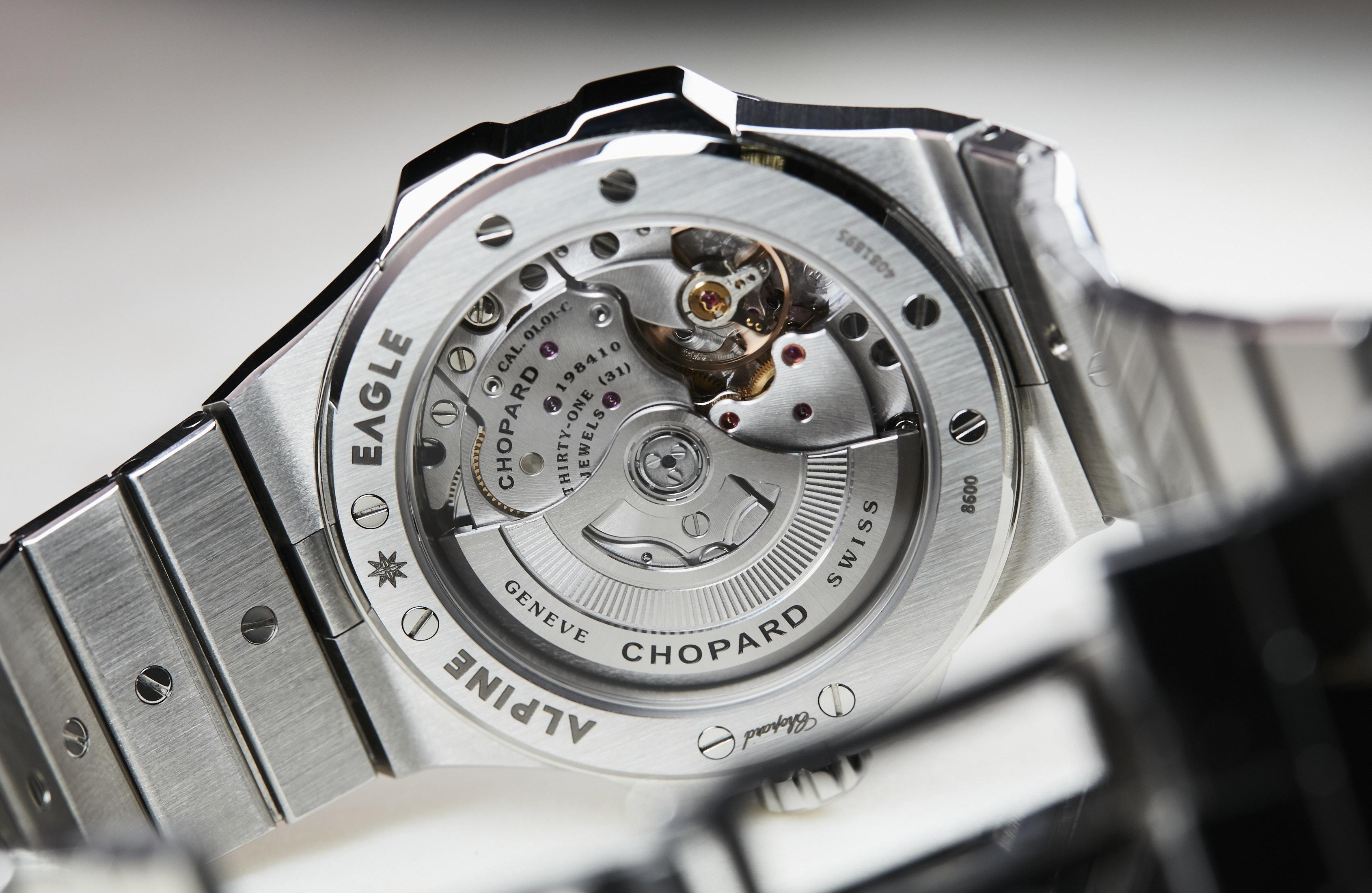 Chopard Alpine Eagle 41mm Bernina Grey dial