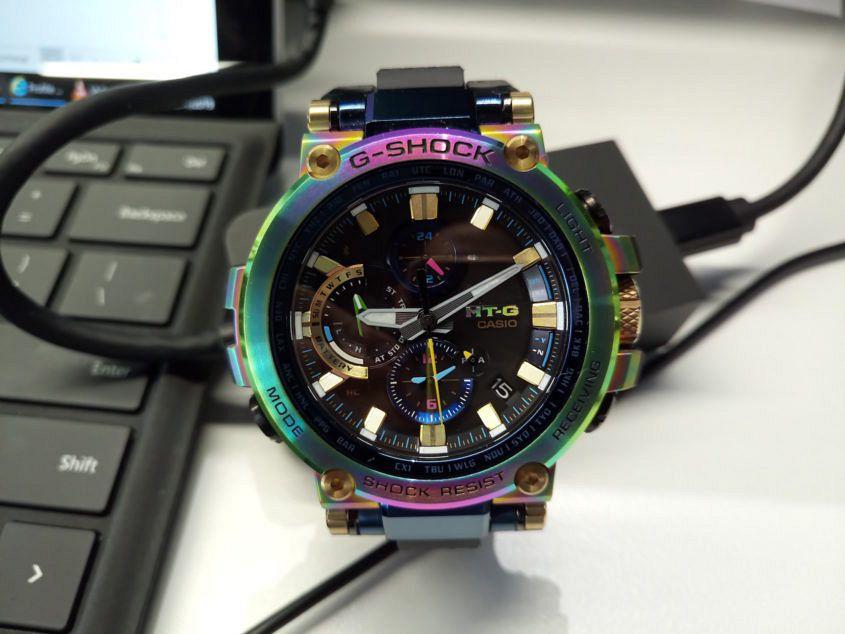 DSC 1825 845x634 - What Sealed The Deal – Albert's rainbow G-Shock