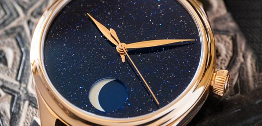 H.Moser & Cie Endeavour Perpetual Moon Concept Aventurine
