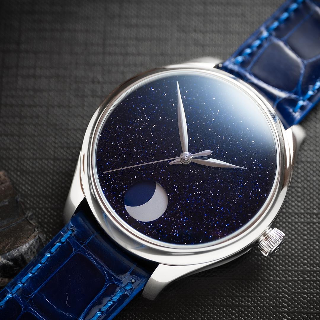 H.Moser & Cie Endeavour Perpetual Moon Concept Aventurine