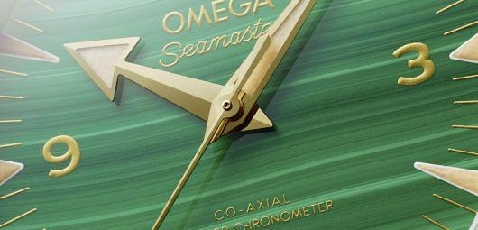 stone dial Omega Seamaster