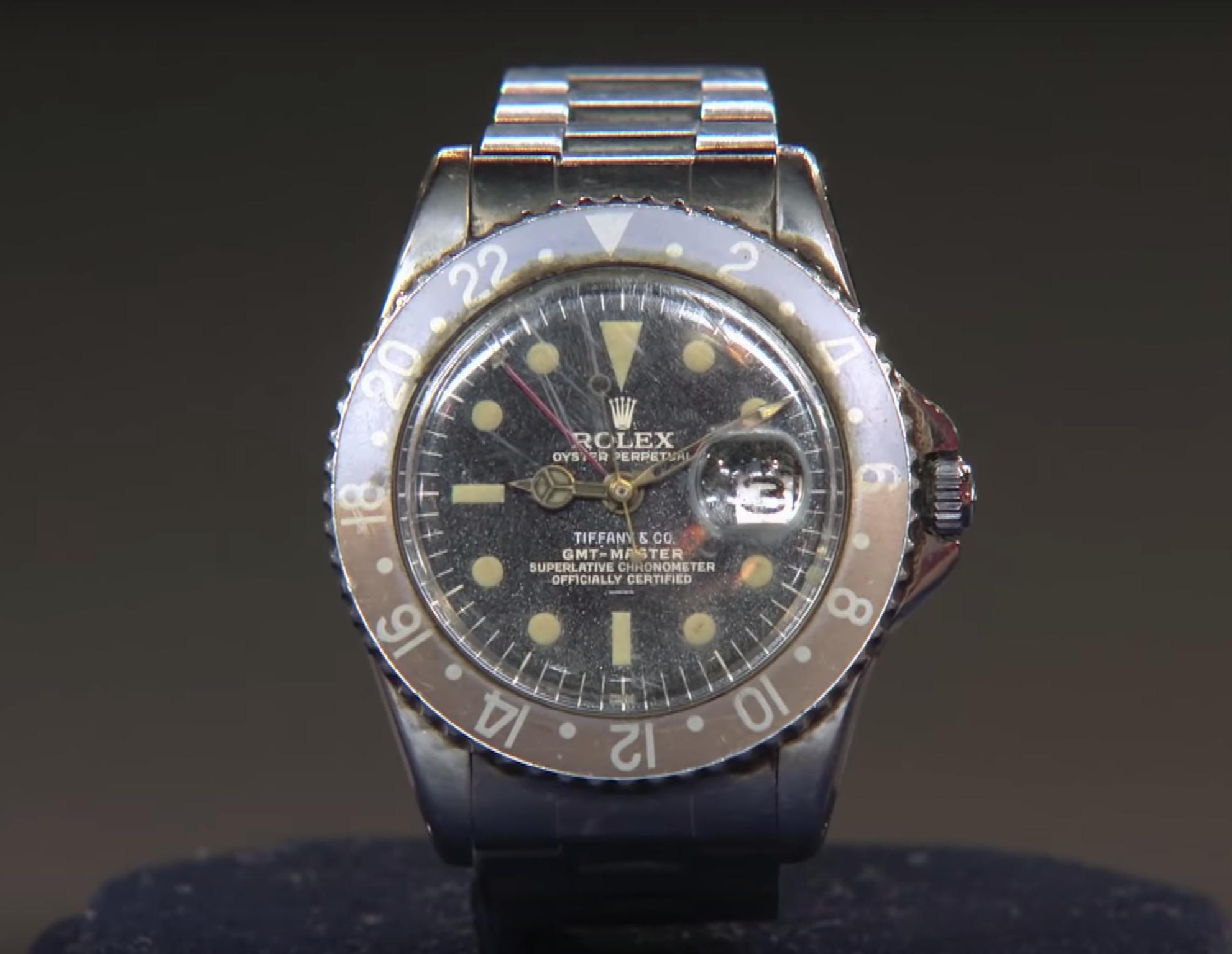 "Rolex ""Tiffany"" GMT-Master"