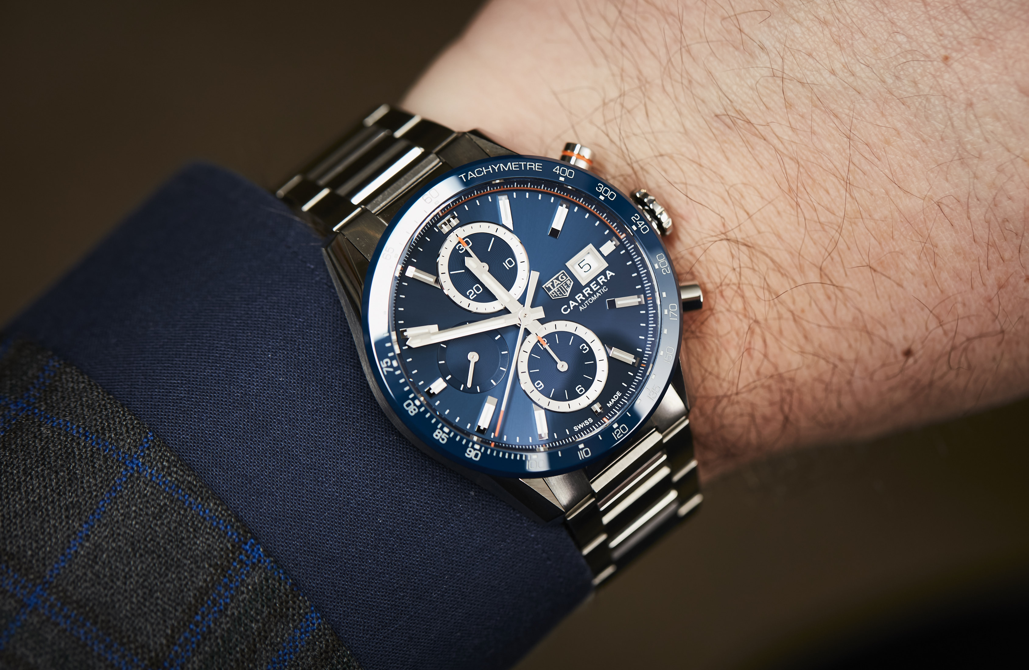 TAG Heuer Carrera Calibre 16 blue