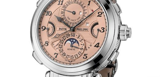 Top 3 most expensive watches sold at Only Watch 2019